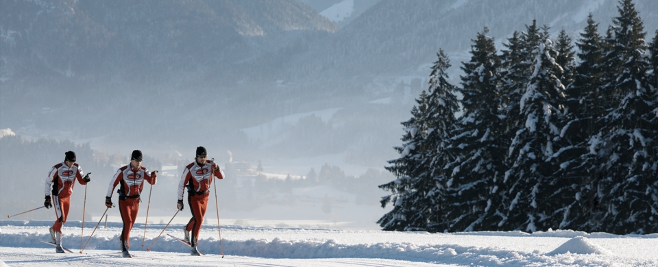 Cross-country Skiing in the Hohe Salve Tourism Region